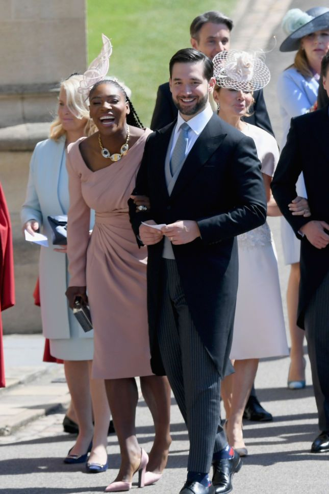 Serena Williams and her husband Alexis Ohanian at the special event.