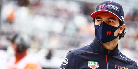 sergio pérez, actual piloto de red bull racing en la fórmula 1