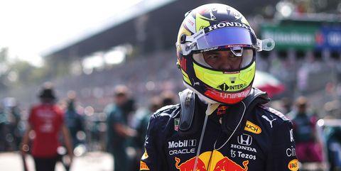 sergio pérez, actual piloto de red bull en fórmula 1