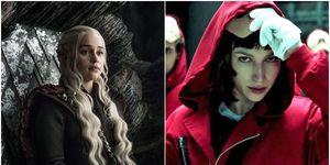 'Juego de tronos' y 'La casa de papel', las series más vistas bajo demanda en España