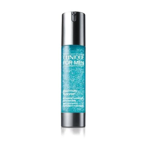 clinique   for men   maximum hydrator   activated water gel concentrate   serum