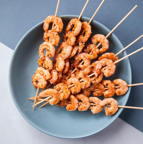 Dish, Food, Cuisine, Skewer, Yakitori, Satay, Pincho, Shashlik, Ingredient, Finger food,