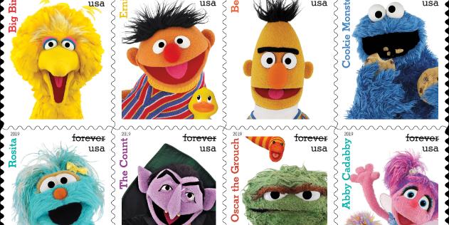 The U S Postal Service Is Celebrating Sesame Street S