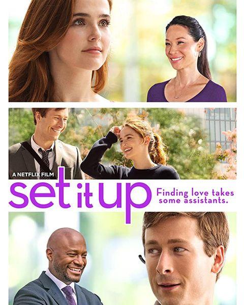 set it up best romantic comedies on netflix