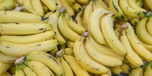 plátano, fruta, perder, peso