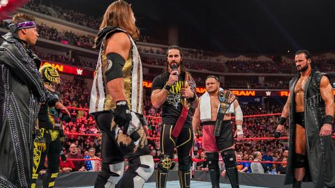 reputable site 7f510 4f05c Seth Rollins on WWE Monday Night Raw