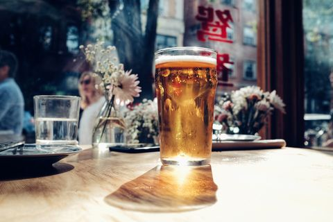 Drink, Beer, Beer glass, Wheat beer, Lager, Alcoholic beverage, Pint, Alcohol, Glass, Drinkware,