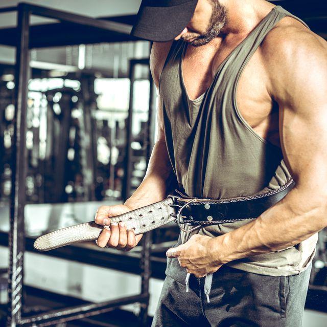 setting gym protection belt