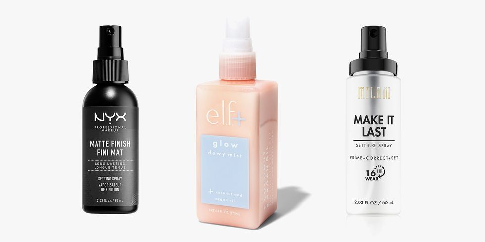 9 Drugstore Setting Sprays That Are Just as Magical as High-End Ones