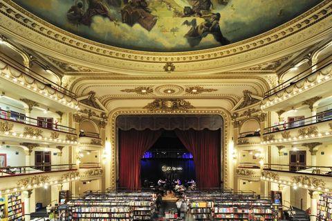 LIBRARY EL ATENEO, BUENOS AIRES, ARGENTINA