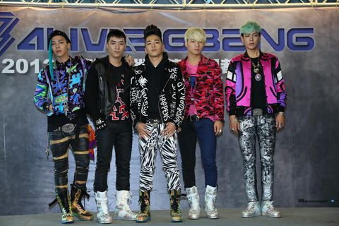 South Korean Band BigBang Meet Fans In Taipei