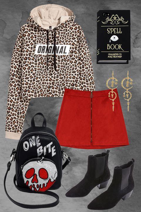 Clothing, Outerwear, Red, Footwear, Hoodie, Fashion, Bag, Hood, Headgear, Shoe,