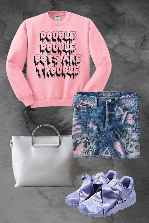 Pink, Product, Clothing, T-shirt, Sleeve, Footwear, Font, Design, Material property, Outerwear,