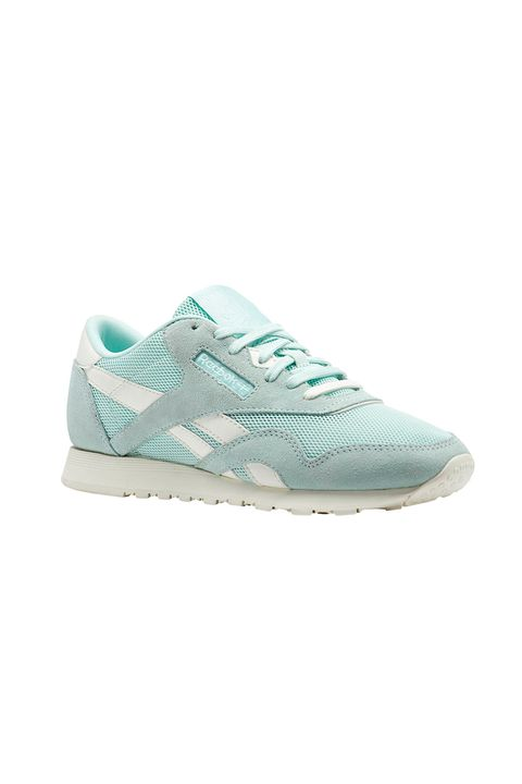 Shoe, Footwear, Sneakers, White, Turquoise, Aqua, Product, Outdoor shoe, Walking shoe, Sportswear,