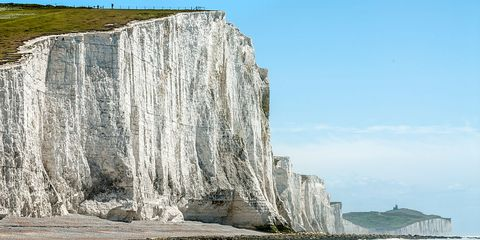 Seven Sister Cliff Formation
