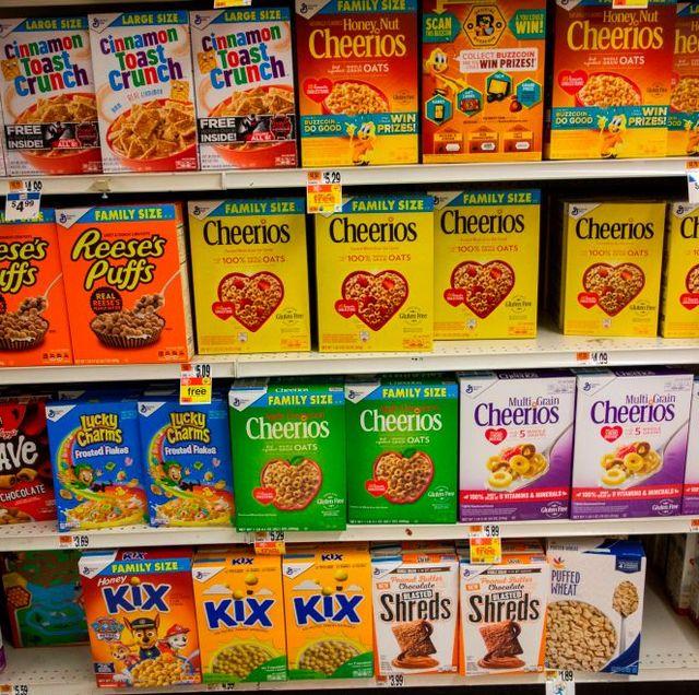 Most Popular Breakfast Cereal Through