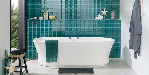 Tecnología y belleza en el cuarto de baño - Decorar el baño