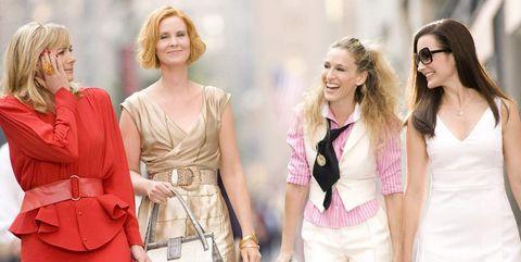 Pink, Fashion, Fashion model, Dress, Spring, Event, Fashion design, Street fashion, Formal wear, Haute couture,