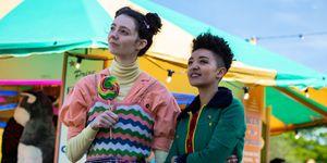 Sex Education season 2 – Lily and Ola