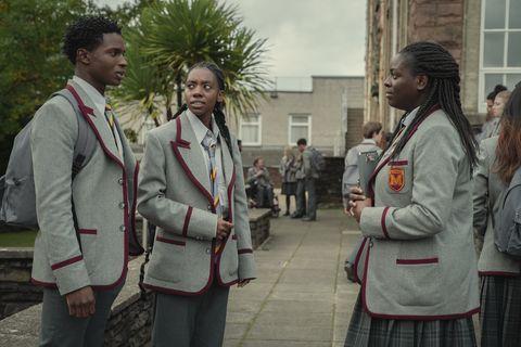 image of the third season of sex education
