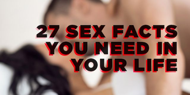 Studies facts sex sex and 51 Sultry