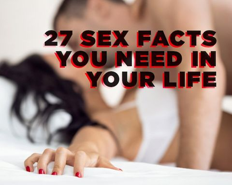 27 Sex Facts You Need in Your Life