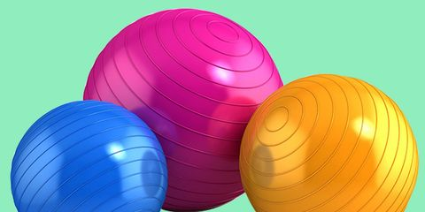 5 Sex Positions You Can Do on an Exercise Ball