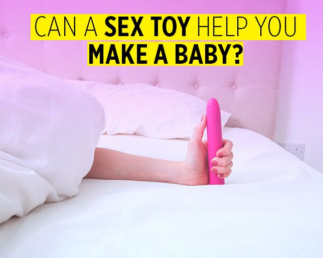Pregnancy and sex toys