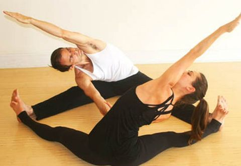 Yoga sexual couples I Tried