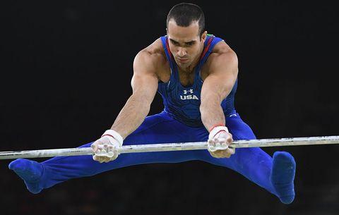 gymnastics sexiest sport