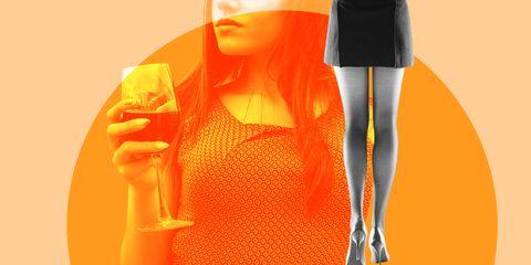 Yellow, Orange, Amber, Fashion illustration, Peach, Animation, Painting, Costume design, Day dress, Fictional character,