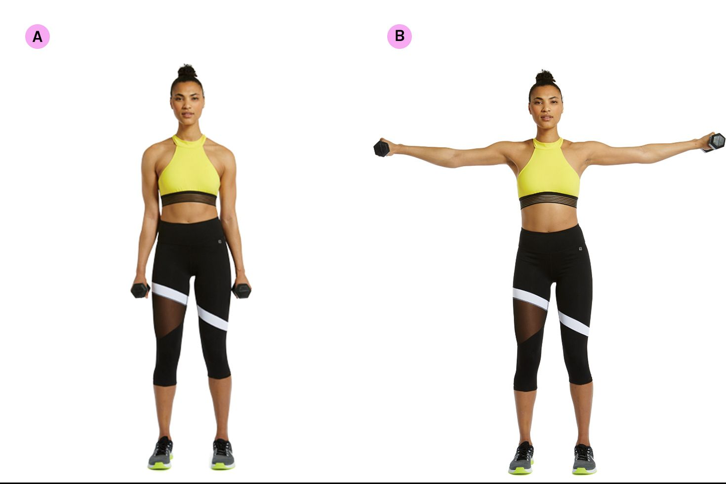 Dumbbell Lateral Shoulder Raise