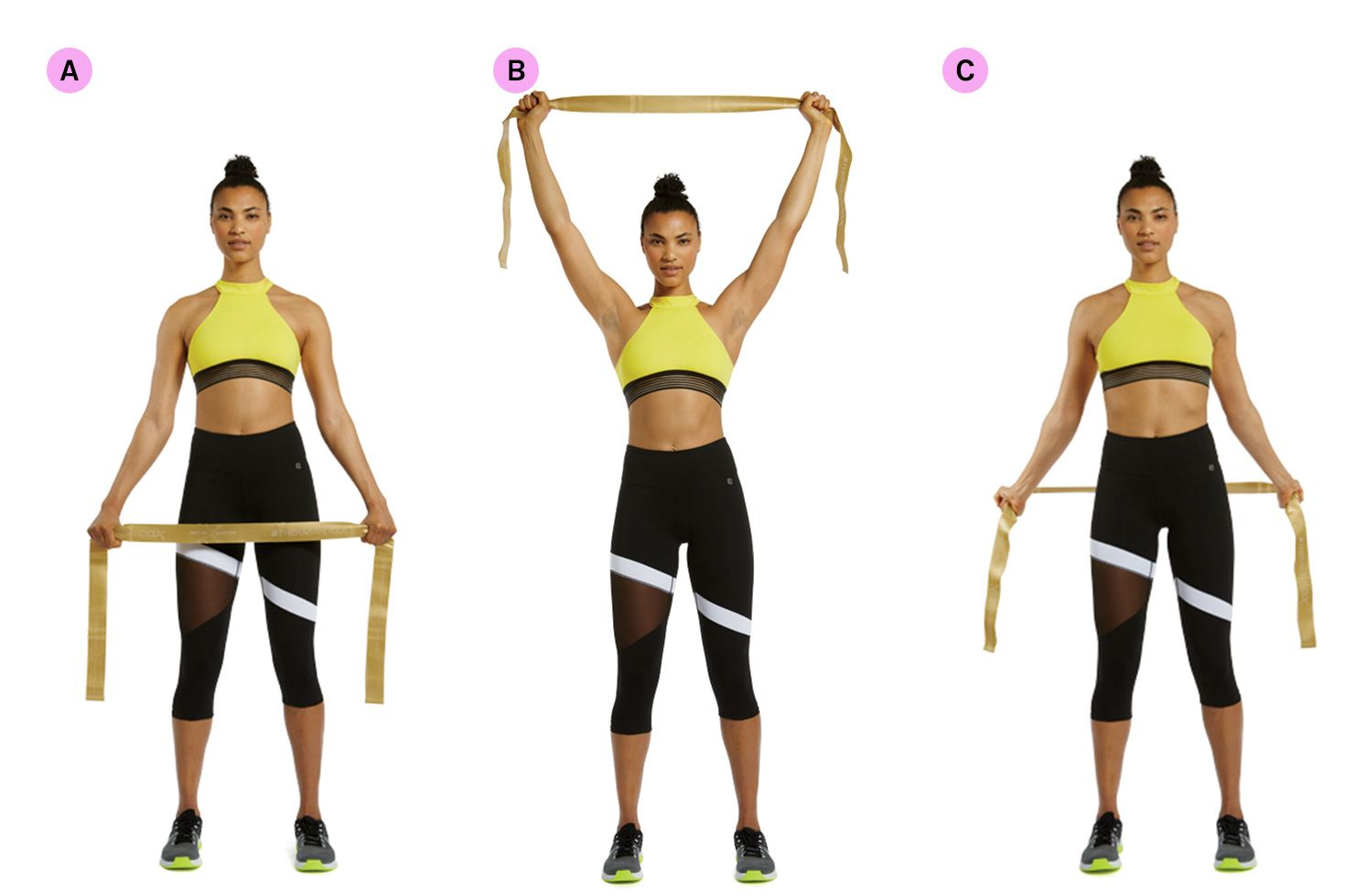 resistance band shoulder rotation