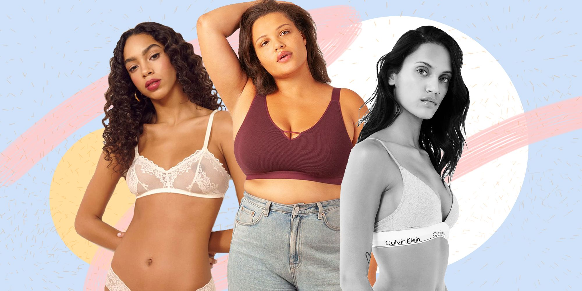f8adcce2b Sexy Bralettes for Women - Best Bralettes for Big Boobs and Period Boobs
