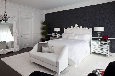 36 Black & White Bedrooms - Photos and Ideas for Bedrooms ...