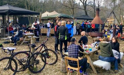 Where the streets have no name, Lage Vuursche, event, MTB