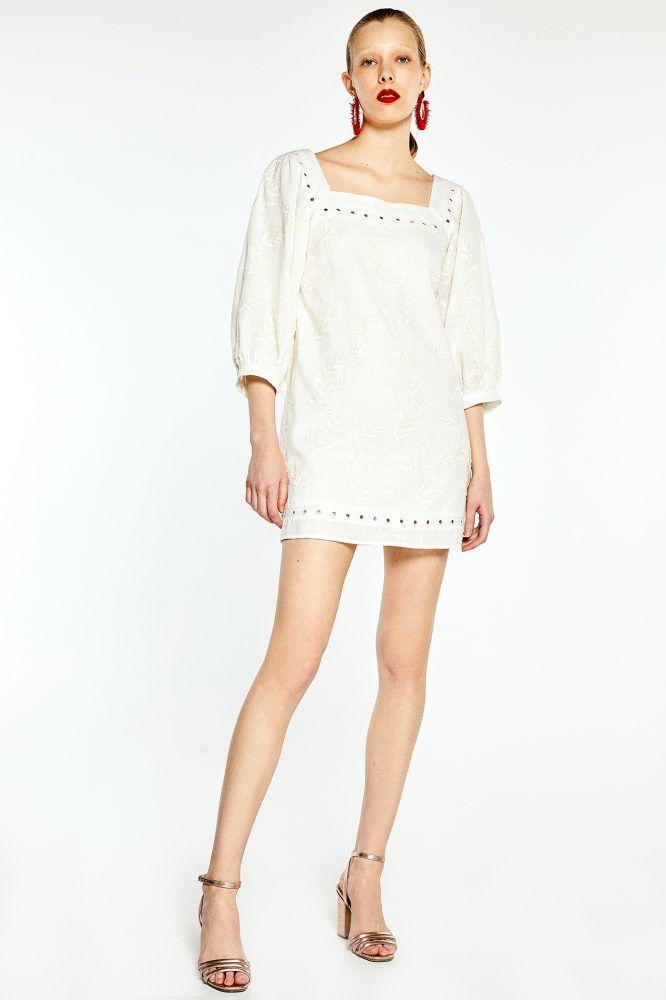 Paula Echevarría vestido blanco