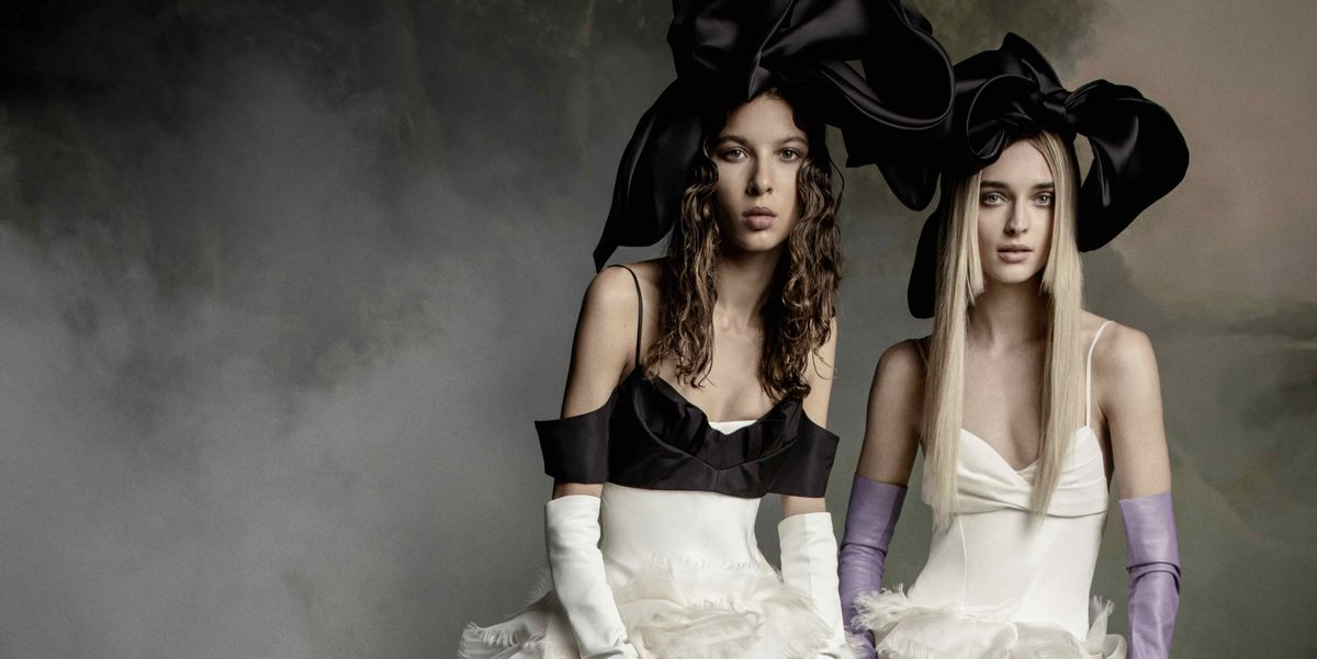 "Exclusive: Vera Wang's 60th Bridal Collection Is ""Devoid of Color, Strong, and Sexy."""
