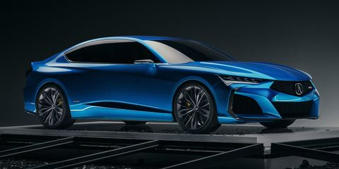 Acura Type S Concept Revealed With Specs Info And Pictures