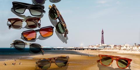 Designer sunglasses summer