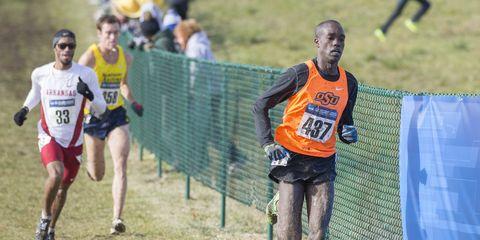 Shadrack Kipchirchir running