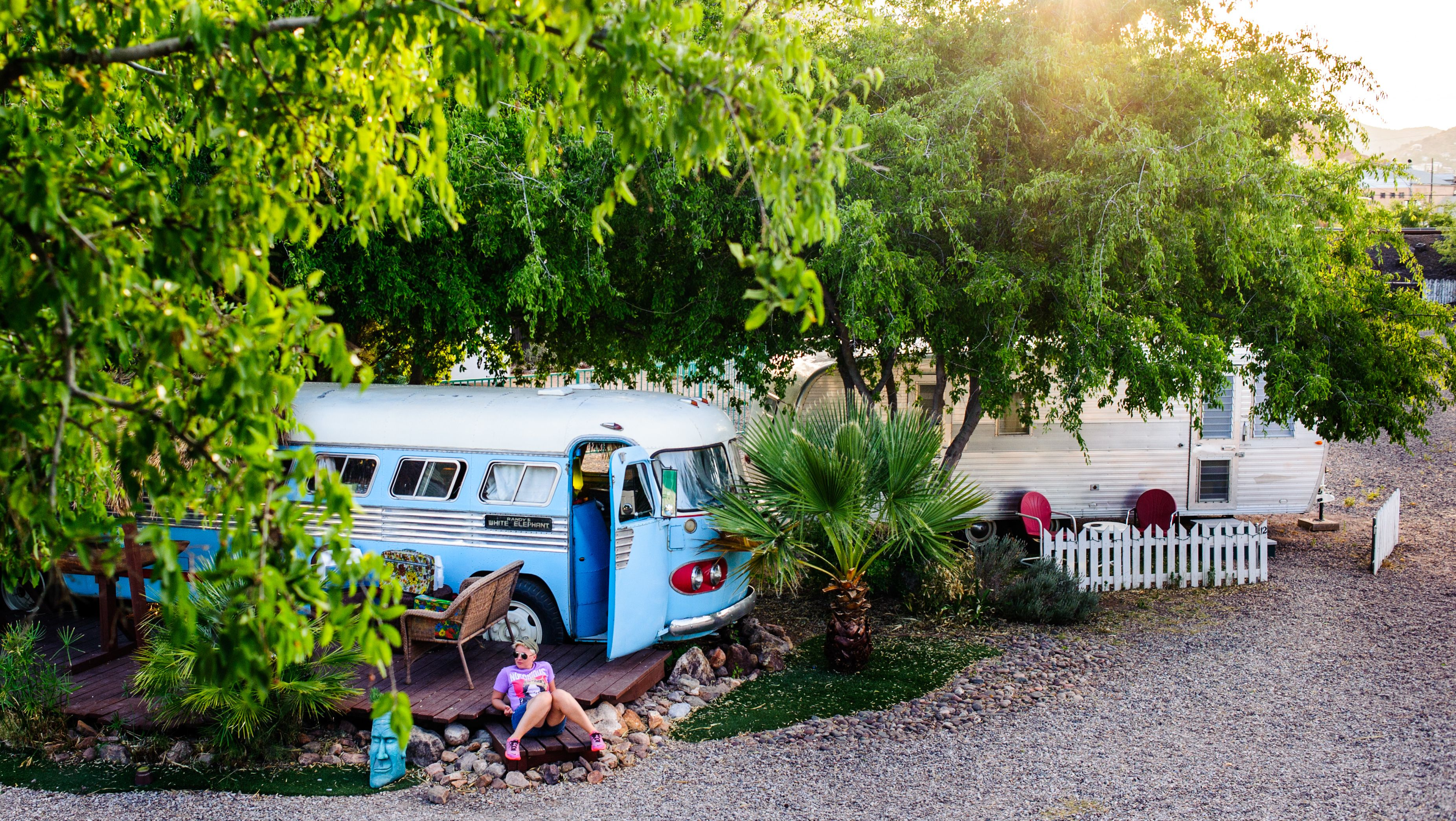 shady dell travel trailer resort