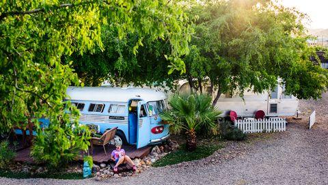 shady dell travel trailer resort
