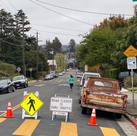 City of Oakland street closures