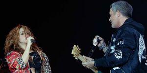 Alejandro Sanz, Shakira, Shakira sorprende a Alejandro Sanz en su concierto de Barcelona, Shakira y Alejandro Sanz, juntos en Barcelona, Shakira, la gran sorpresa del concierto de Alejandro Sanz, Shakira sorprende a sus fans en un concierto de  Alejandro Sanz
