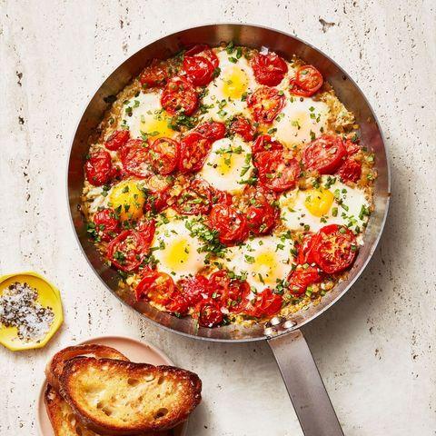 best diabetic breakfast ideas   shakshuka egg dish