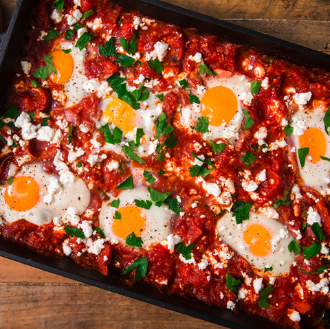 shakshuka recipe mediterranean breakfast