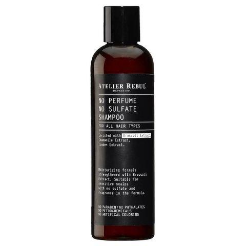 shampoo zonder sulfaten of parabenen