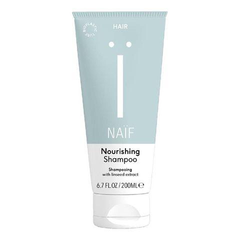shampoo zonder sulfaten en parabenen naïf natuurlijke voedende shampoo