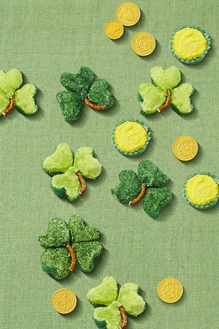 Shamrock Cupcakes - St Patrick's Day Food